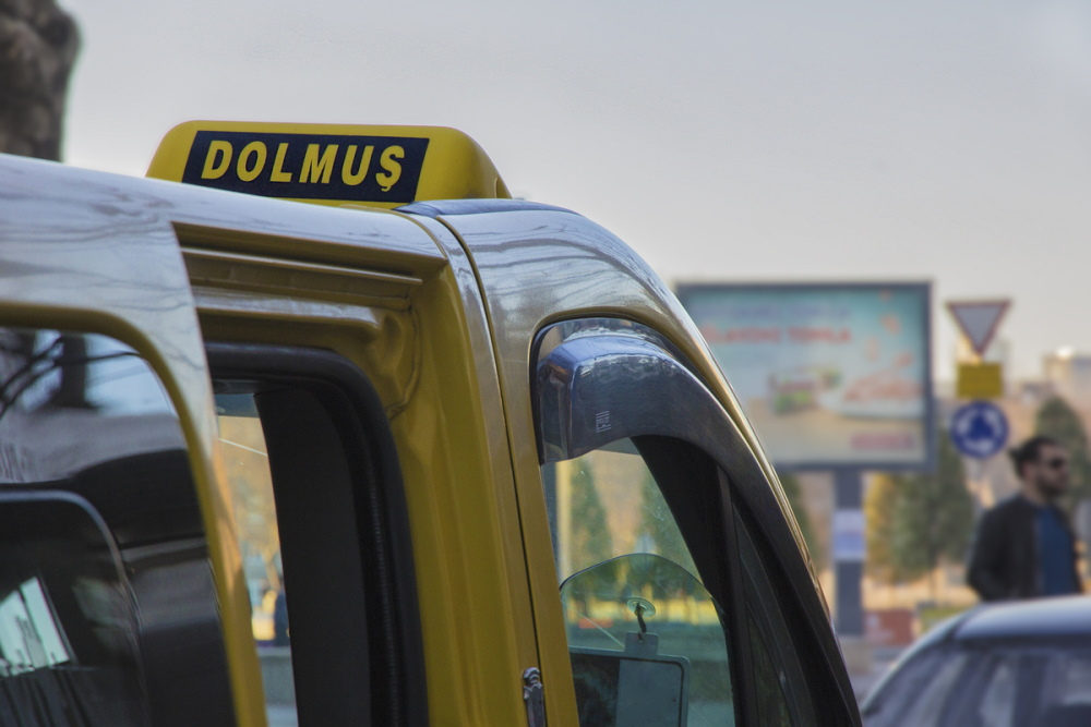 Dolmus in İstanbul in Turkey