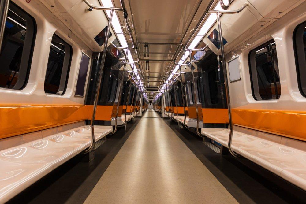 Public transport network in Istanbul in Turkey