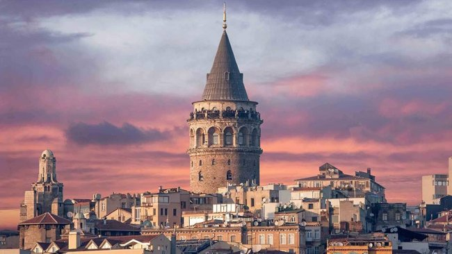 Galata Tower in Istanbul in Turkey - Istanbul Tourist Information