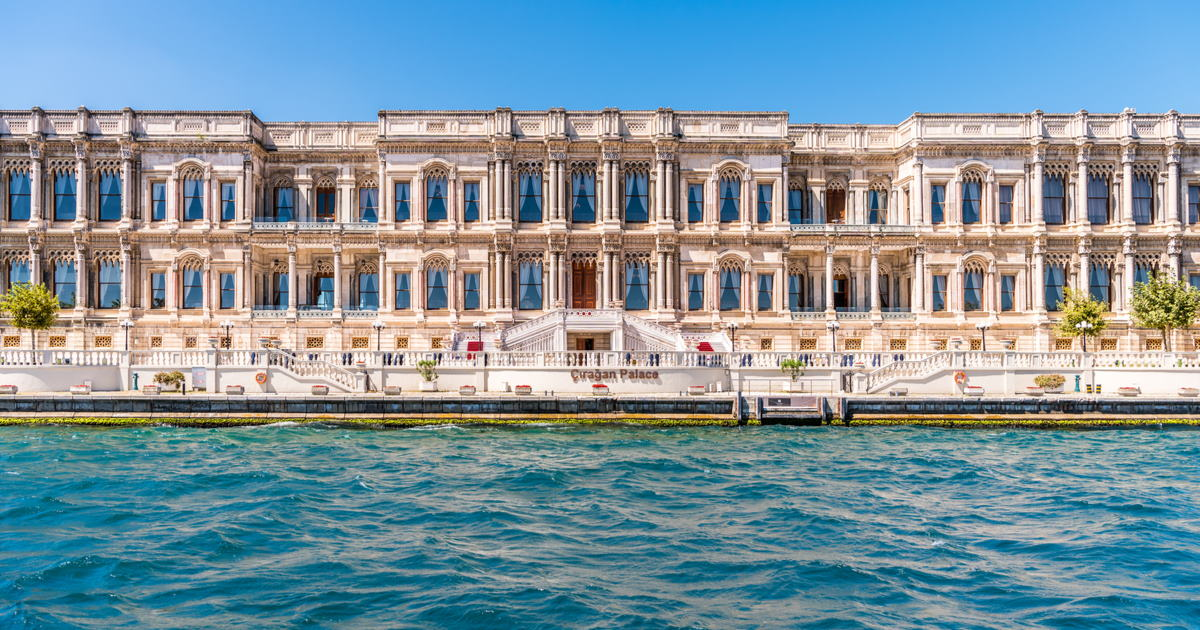 Çırağan Palace Kempinski in Istanbul