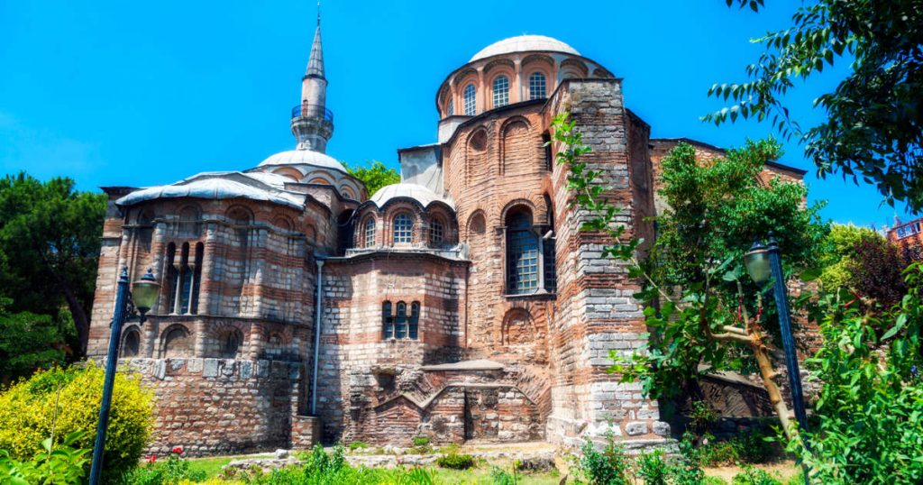 Chora Church in Istanbul in Turkey