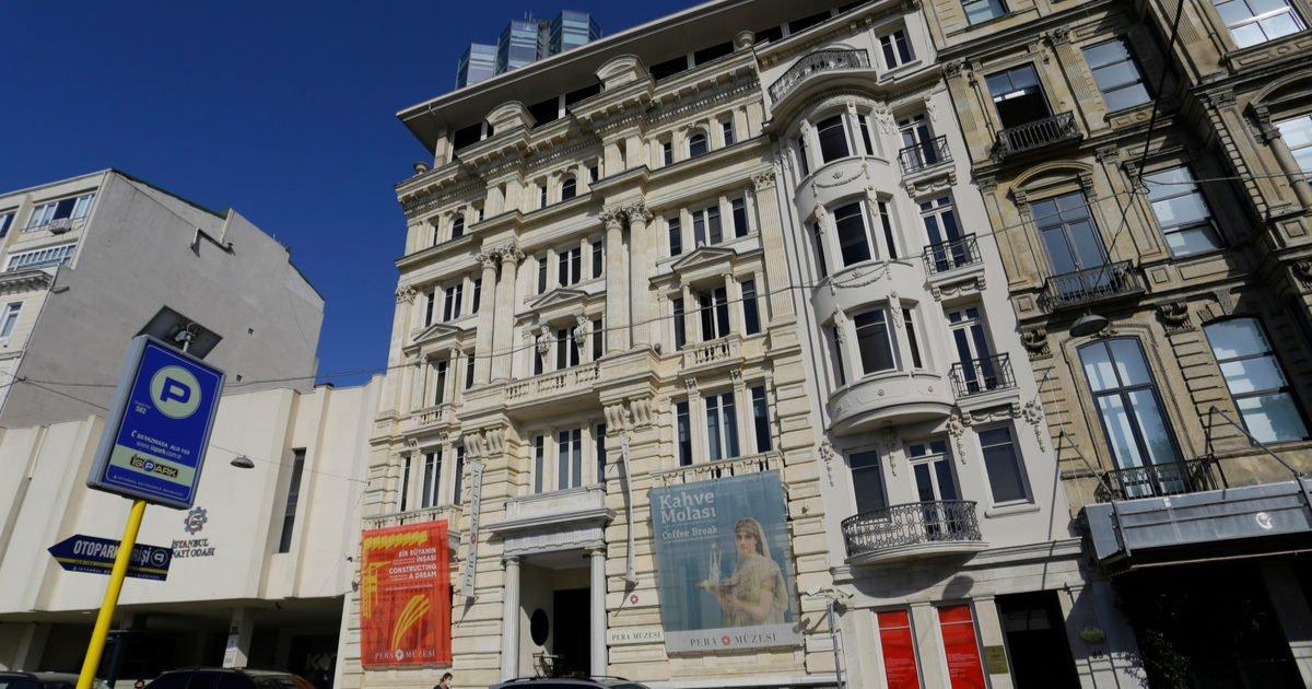 Pera Museum in Istanbul in Turkey