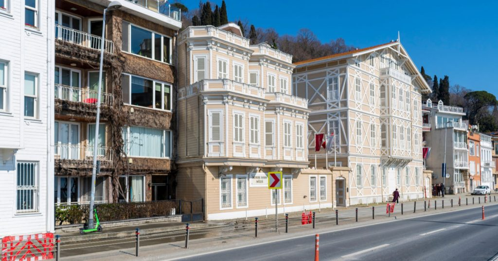 Sadberk Hanım Museum in Istanbul in Turkey