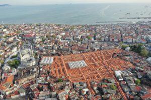 Grand Bazaar in Istanbul in Turkey