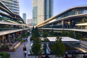 Zorlu Center Shopping Mall in Istanbul