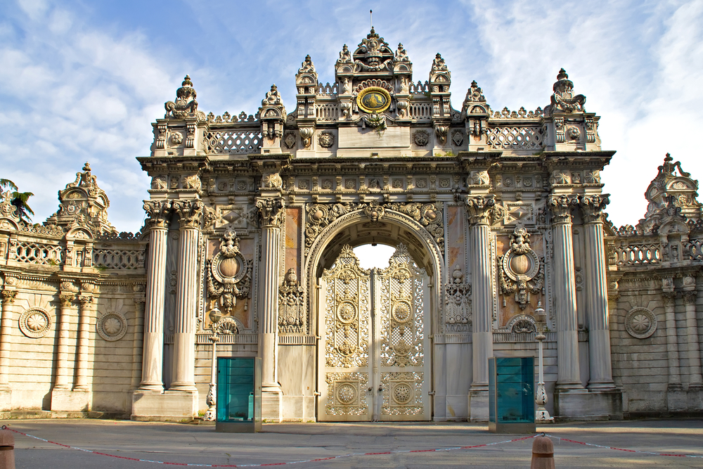 Dolmabahce Palace in Istanbul in Turkey - Istanbul Tourist Information