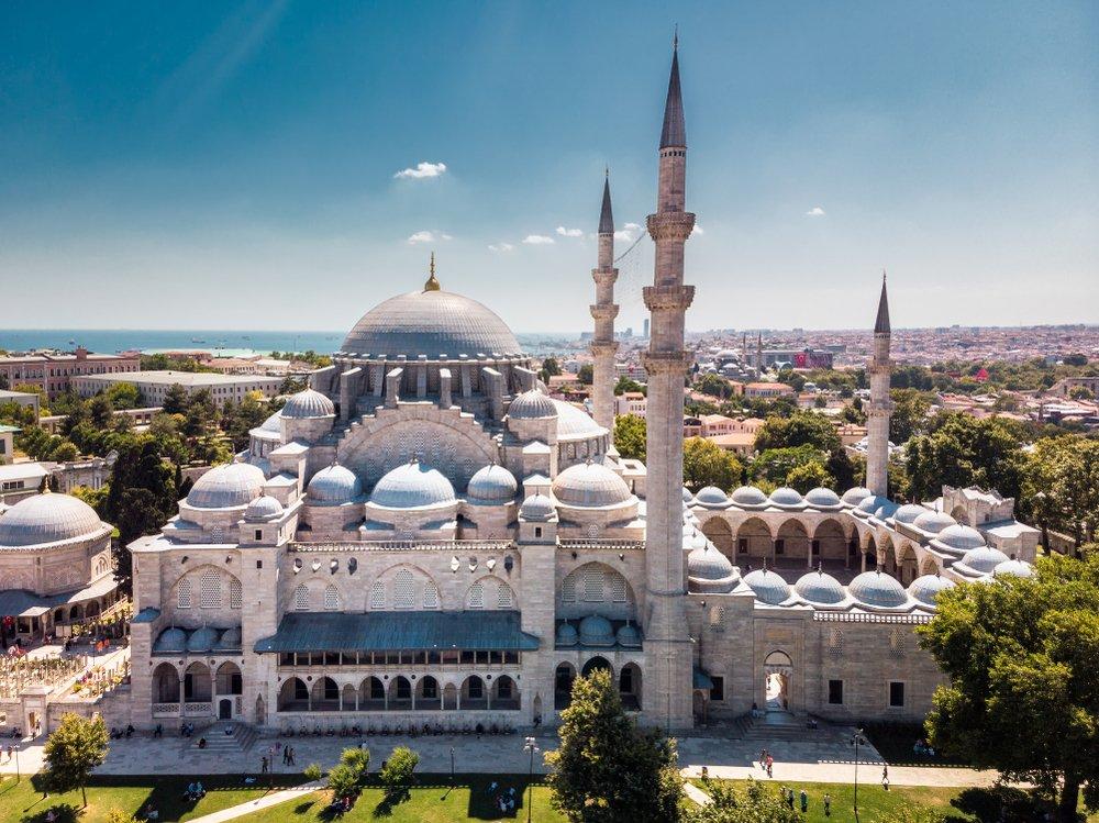 Suleymaniye Mosque in Istanbul Turkey -  Istanbul Tourist Information