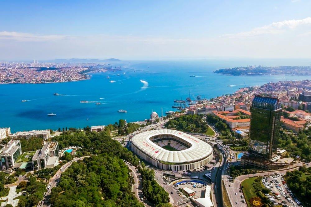 Besiktas Football Club Stadium & Museum in Istanbul