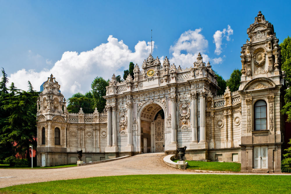 Dolmabahçe Palace in Istanbul