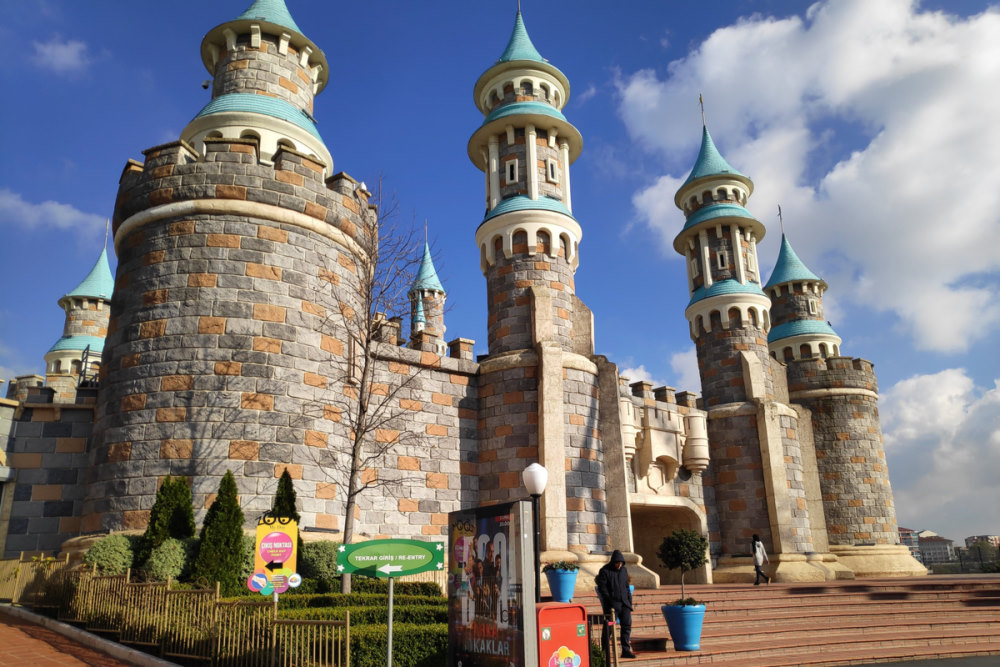 Isfanbul Theme Park in Istanbul