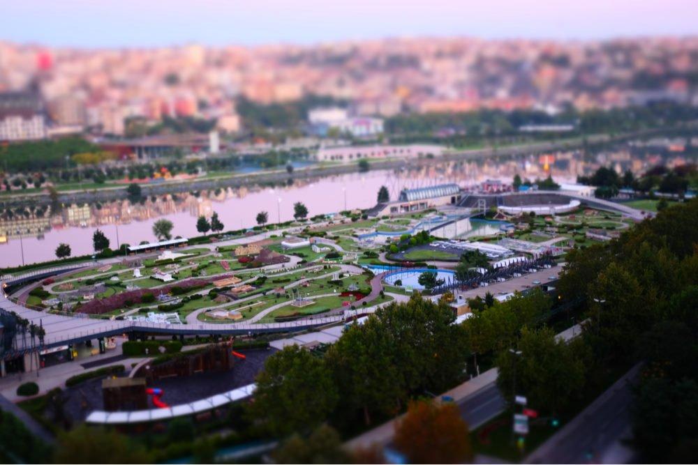 Miniaturk Miniature Park in Istanbul