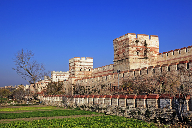 Theodosianische Mauern