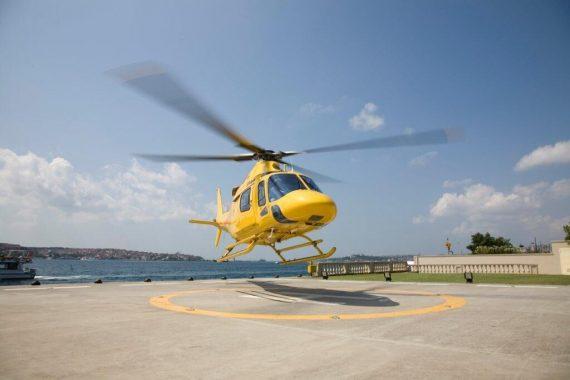 Helikopterflug Istanbul