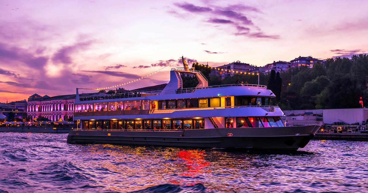 Istanbul Bosphorus Night Cruise Turkey