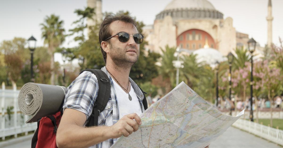 Istanbul Map Tourist Turkey