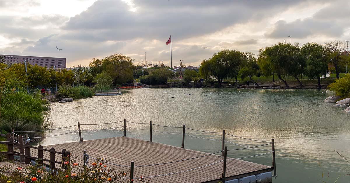 Bakirkoy Botanic Park in Istanbul