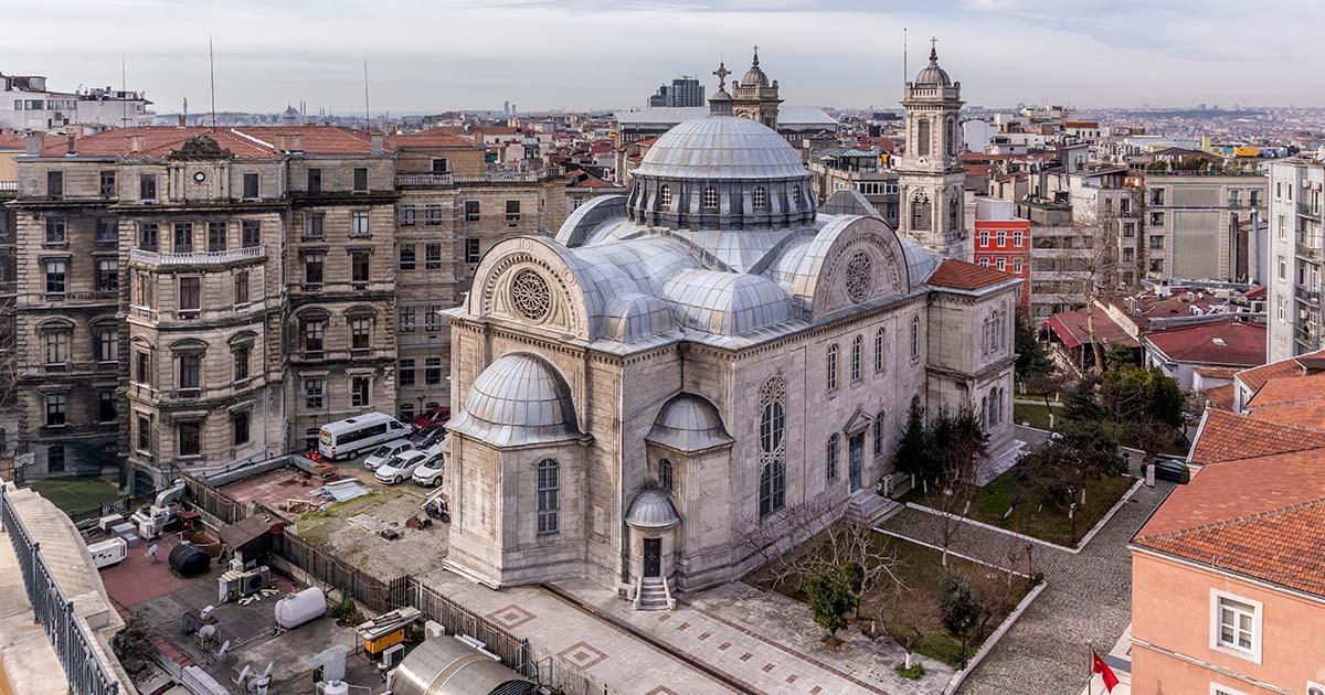 Aya Triada Greek Orthodox Church in Istanbul