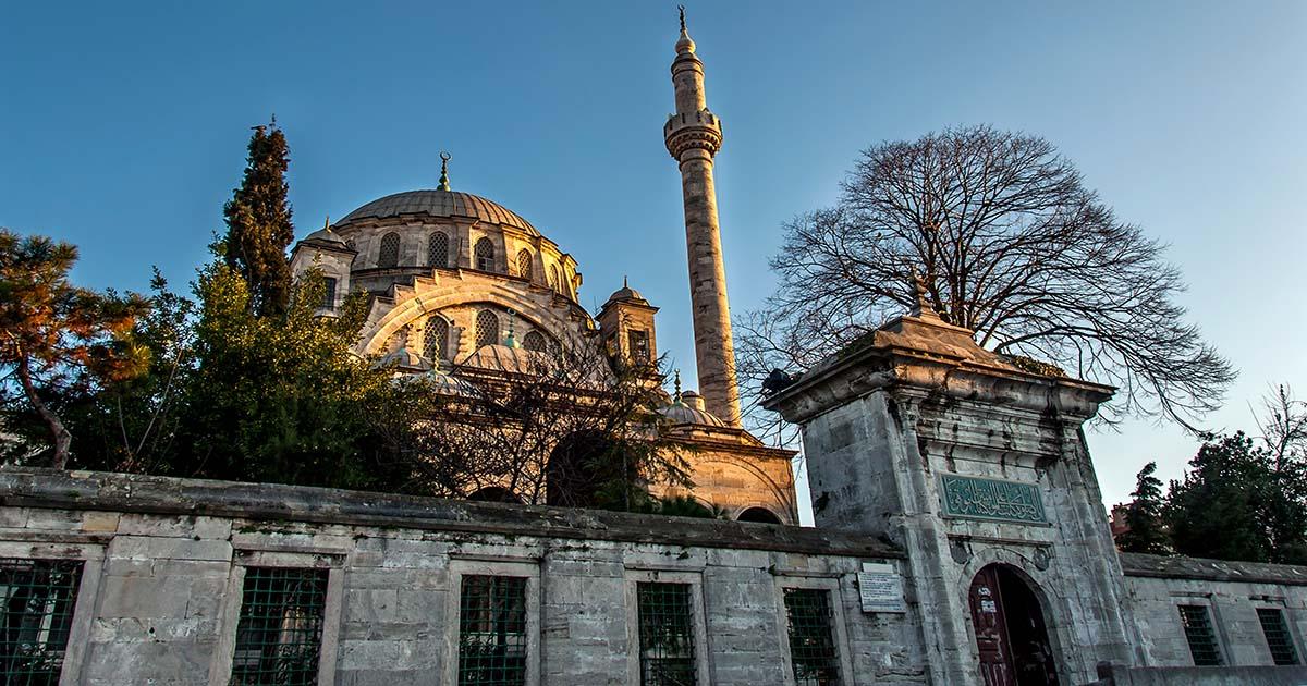 Ayazma Mosque Uskuar in Istanbul