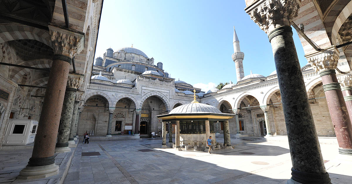 Bayezid Mosque Fatih in Istanbul