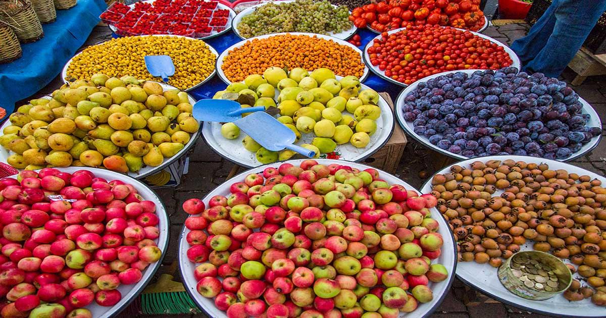 Bio Organic market in Istanbul