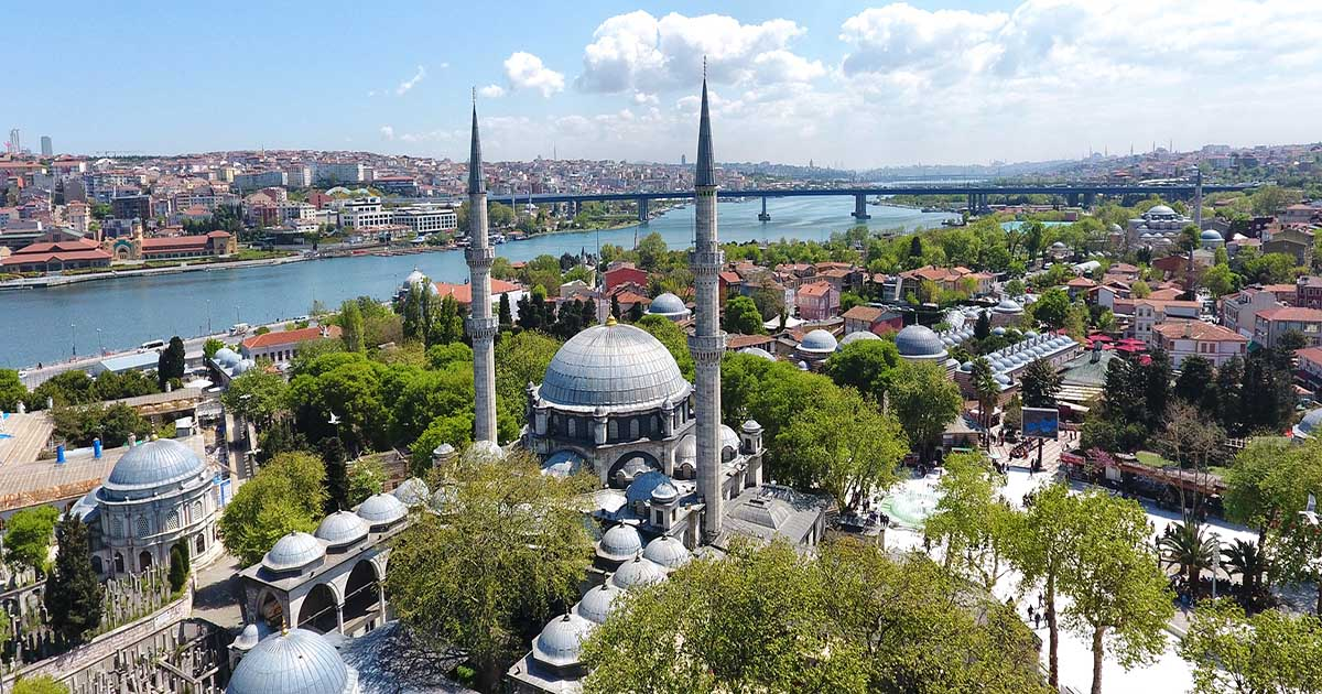 Eyup Sultan Mosque in Istanbul