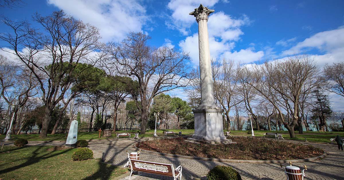 Goths Column in Istanbul in Turkey