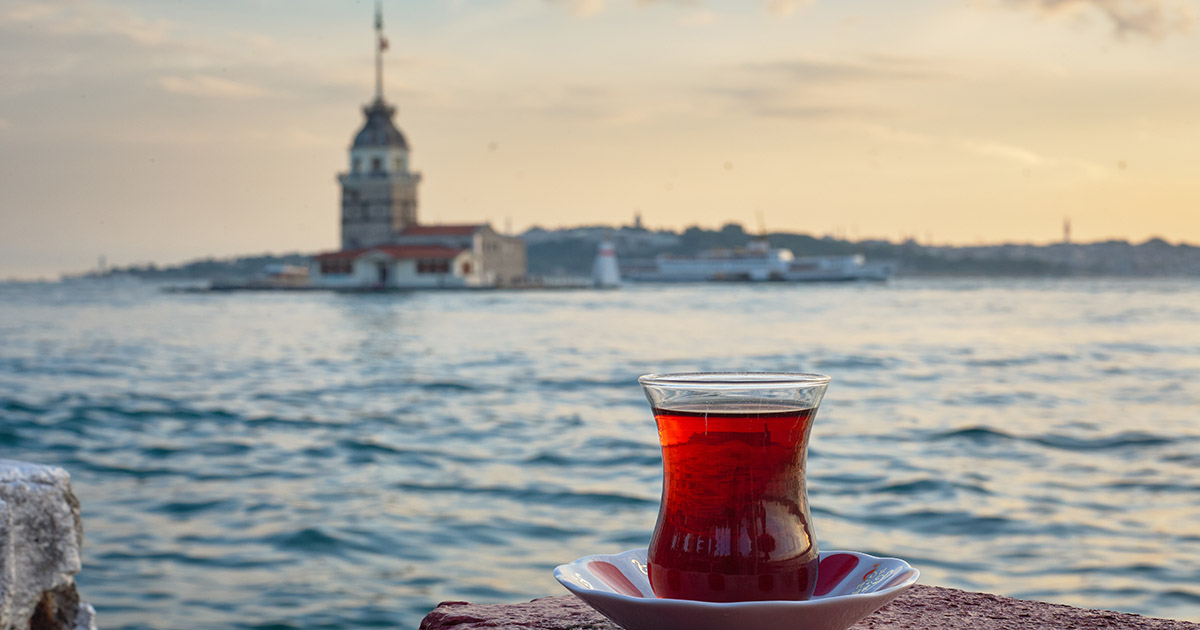 Leander Tower in Istanbul