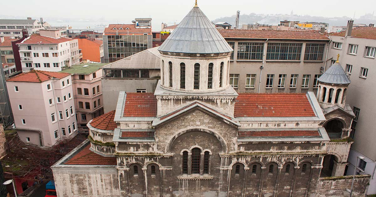 Lusarovich Armenian Church in Istanbul