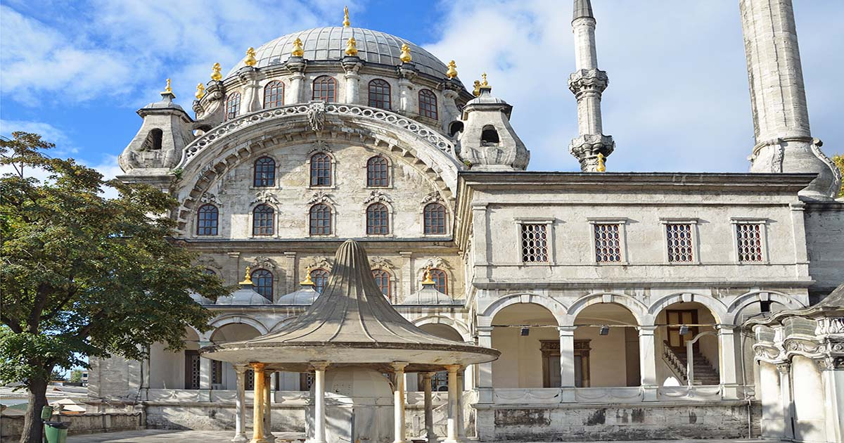 Nusretiye Mosque Beyoglu in Istanbul Turkey