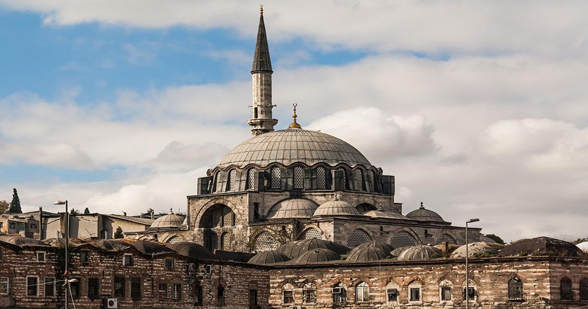 Rustem Paşa Mosque Eminonu in Istanbul Turkey