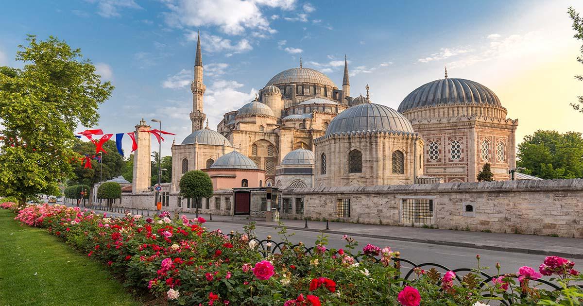 Şehzade Mosque Fatih in Istanbul Turkey