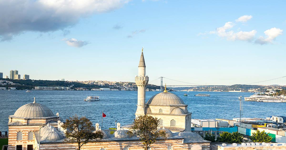 Şemsi Paşa Mosque Uskudar in Istanbul