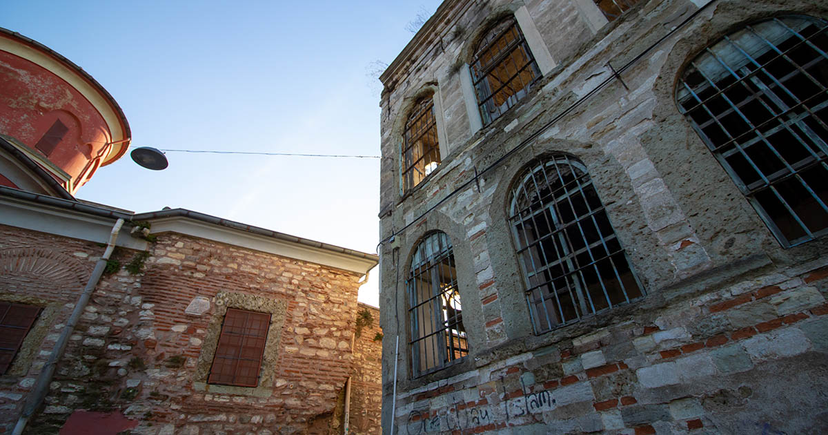 Saint mary of the mongols church in istanbul