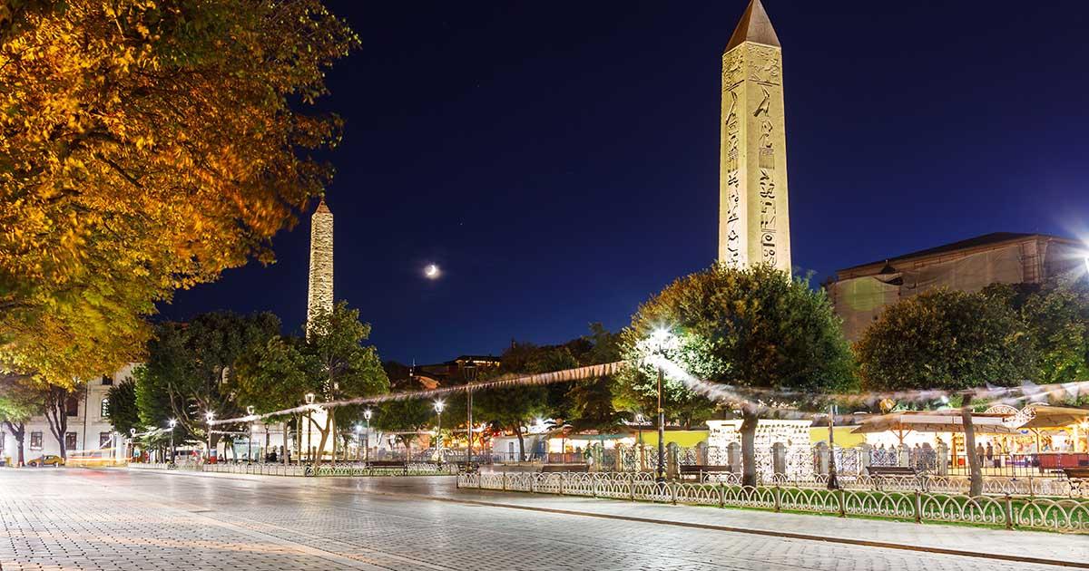 Ancient Hipodrom in Istanbul