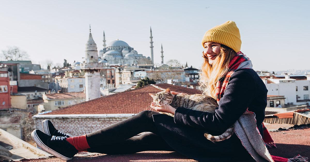 Selfie Hotspots in Istanbul in Turkey
