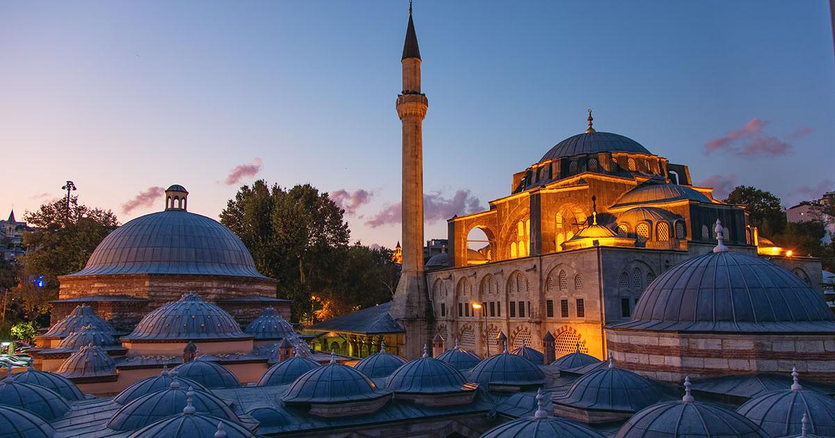 Kılıcc Ali Mosque Tophane in Istanbul
