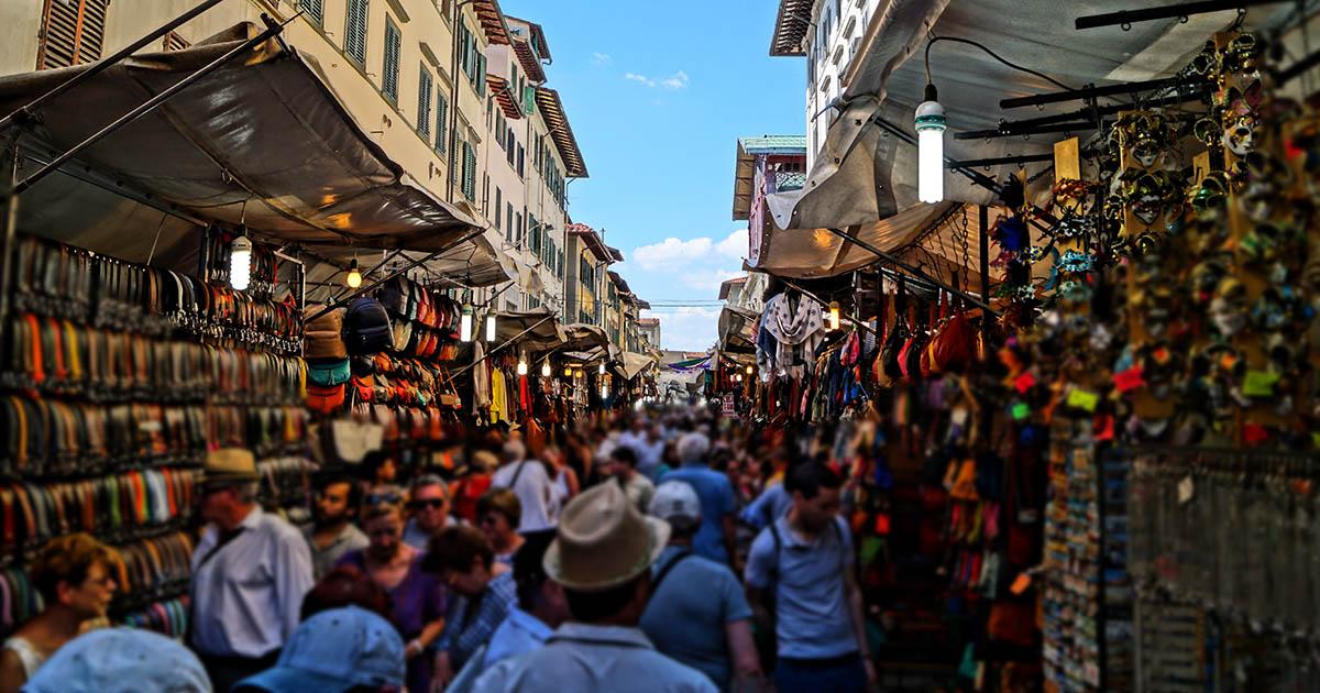 pen market street in Istanbul