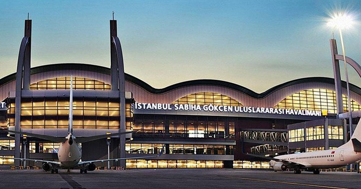 sabiha gokcen airport in asian side in Istanbul