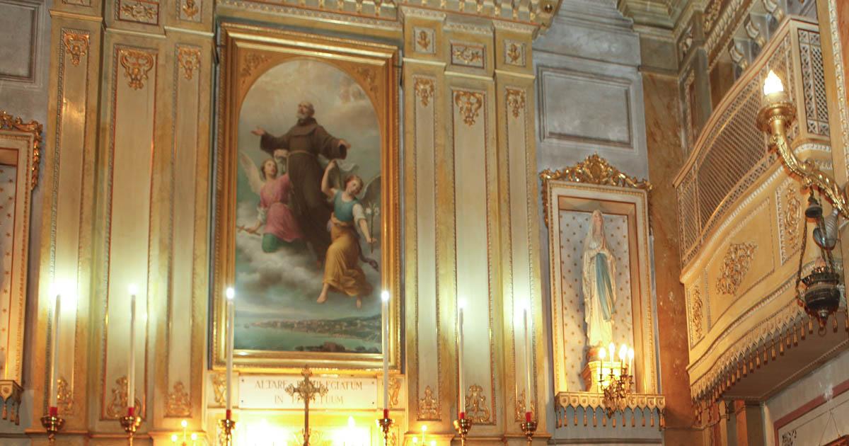 San pacifico catholic church in Istanbul