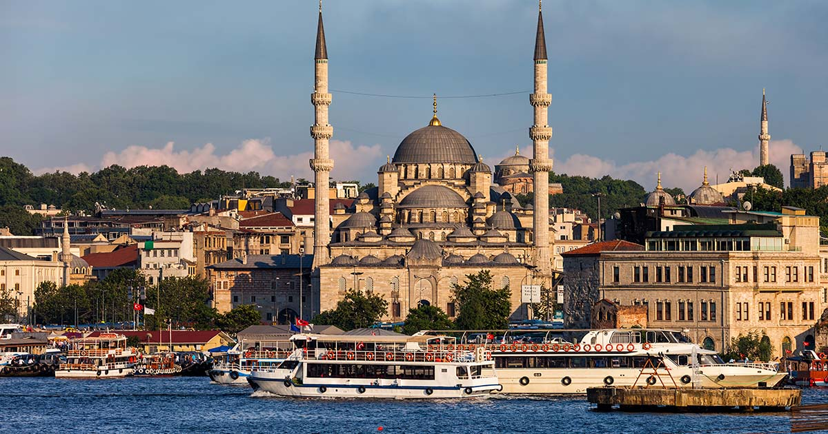 Yeni Cami at Eminonu in Istanbul