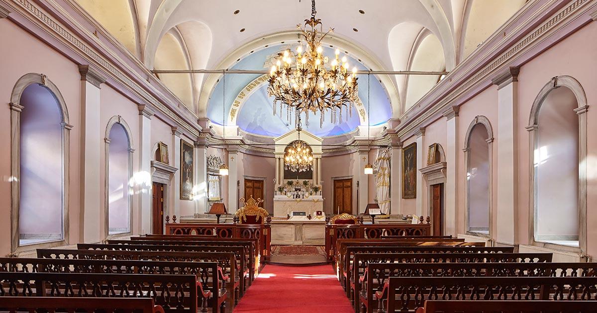 Surp Asdvadzadzin Armenian Church in Istanbul