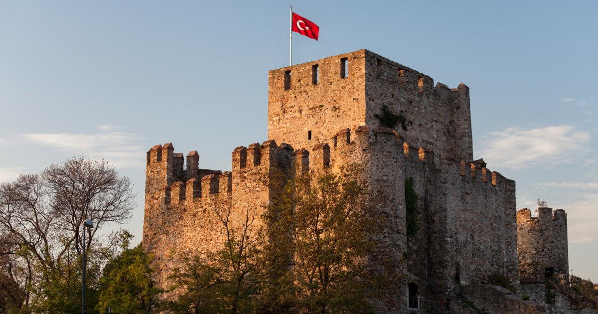 Anatolian Castle in Istanbul