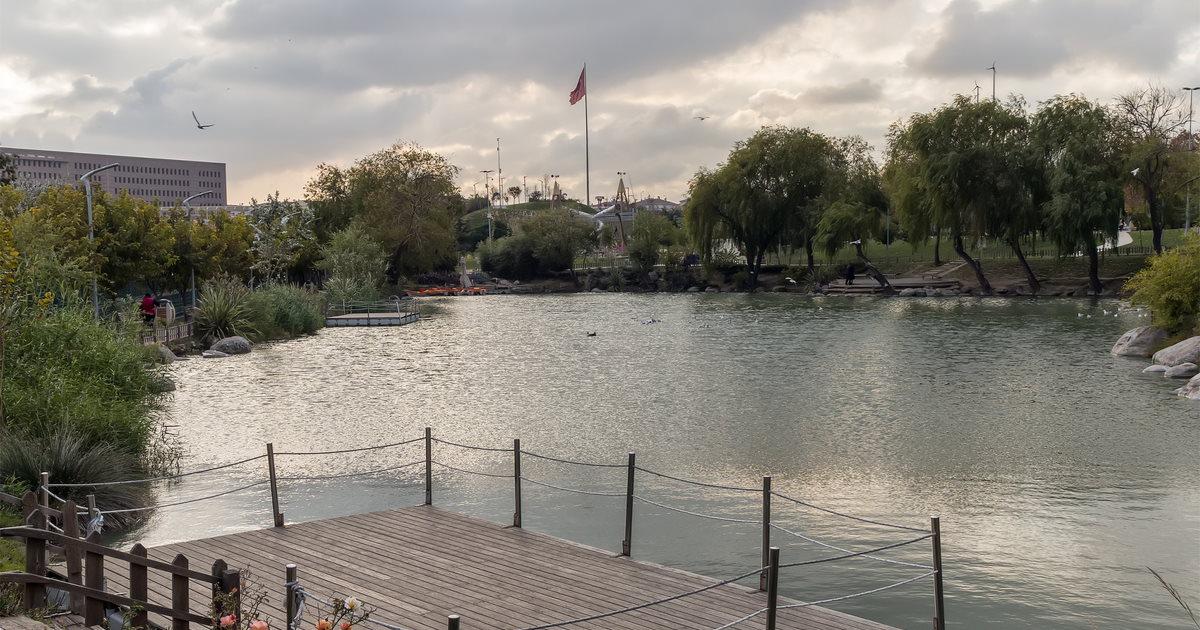 Bakırköy Botanical Park in Istanbul