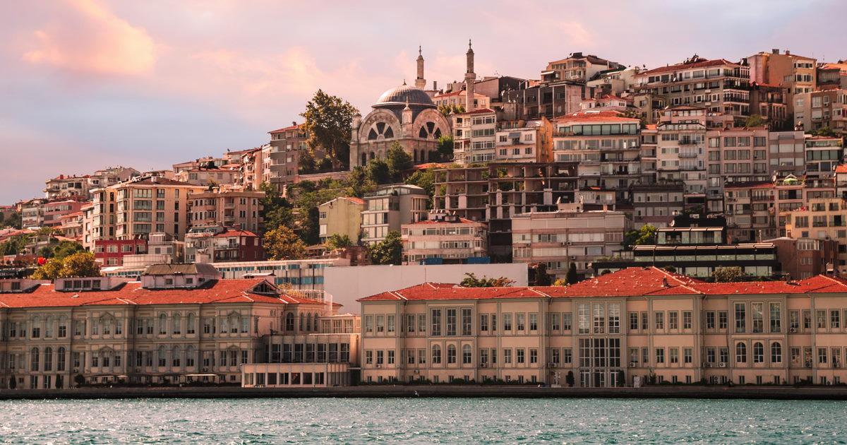 Cihangir Mosque in Istanbul in Turkey