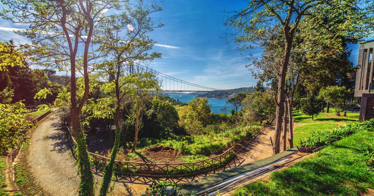 Diamantenkap Nature Park in Istanbul