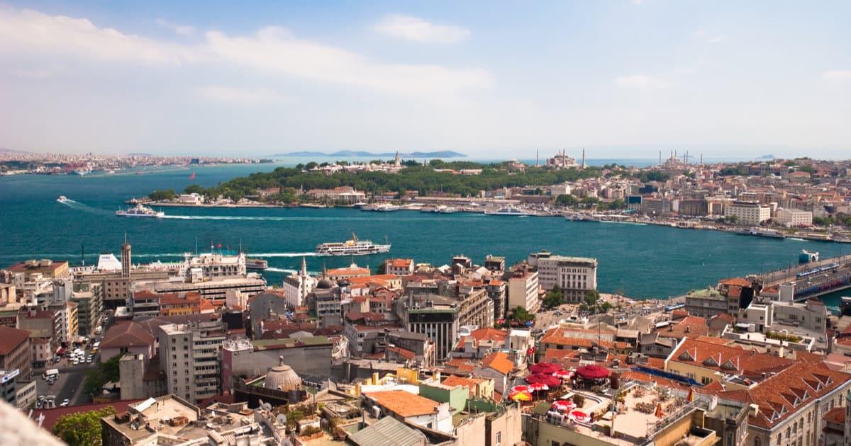 Die Stadt im Überblick in Istanbul