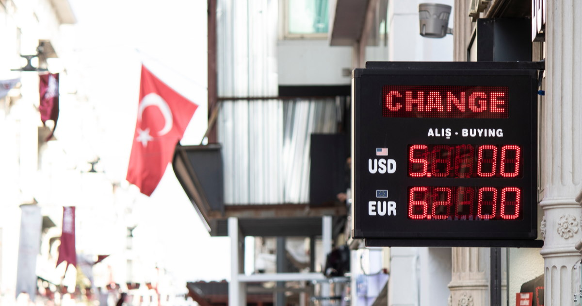 Exchange offices in Istanbul