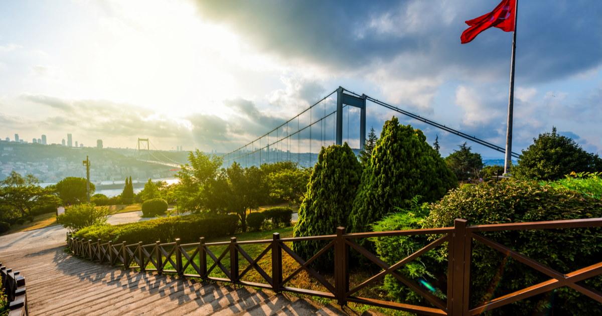 Fatih Park in Istanbul in Turkey