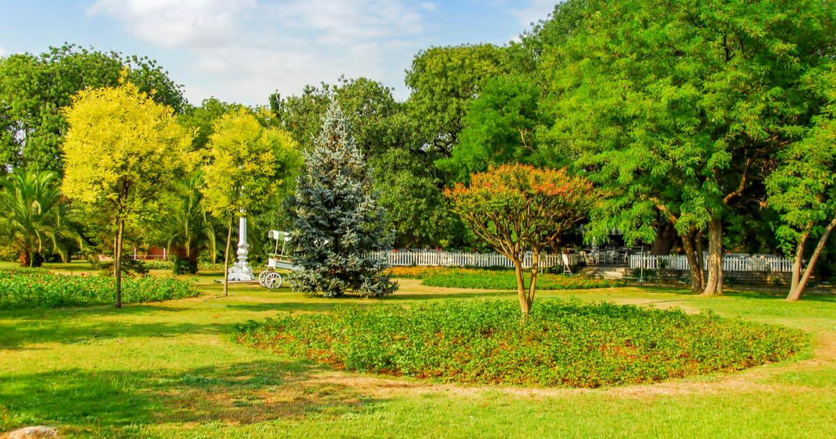Fenerbahce Park in Istanbul in Turkey