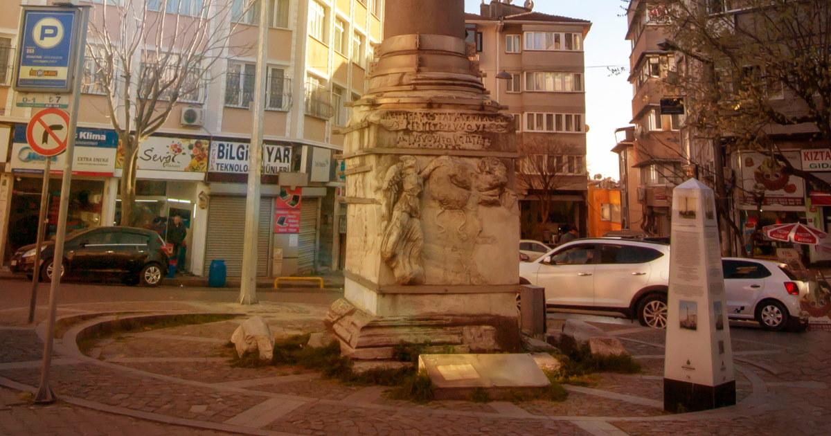 Girl's Column in Istanbul
